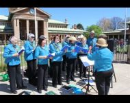 Sing Australia Bathurst at the Ben Hall Raid Weekend
