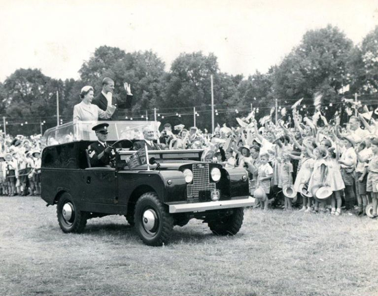 Royal Visit 1954 Bathurst