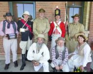 Members of the Lithgow Living History Group